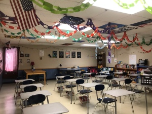 A picture of  my classroom
